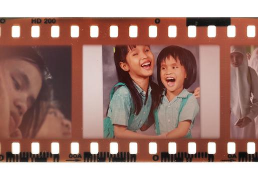 Andrea dan Salsabila, masa kecil mereka di taman kanak-kanak yang sama